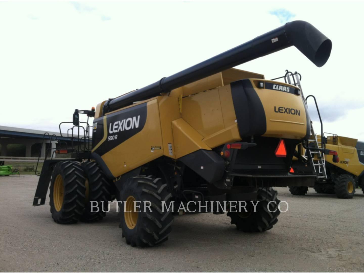 Detail photo of 2009 Lexion 590R from Construction Equipment Guide