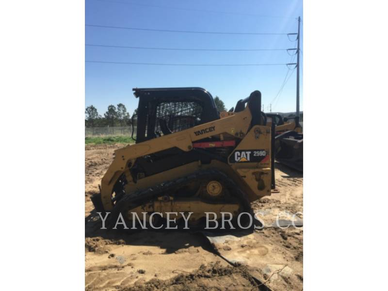 CATERPILLAR SKID STEER LOADERS 259D OR WT equipment  photo 2