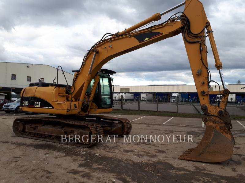 CATERPILLAR KOPARKI GĄSIENICOWE 318C equipment  photo 4
