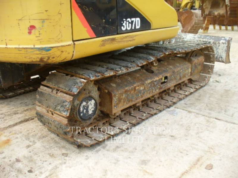 CATERPILLAR TRACK EXCAVATORS 307D equipment  photo 11