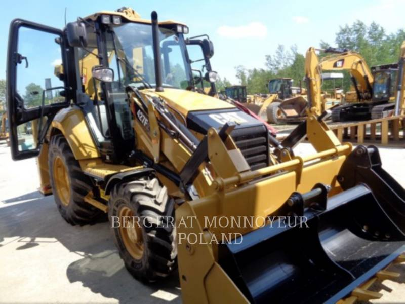 CATERPILLAR BACKHOE LOADERS 427 F 2 equipment  photo 5