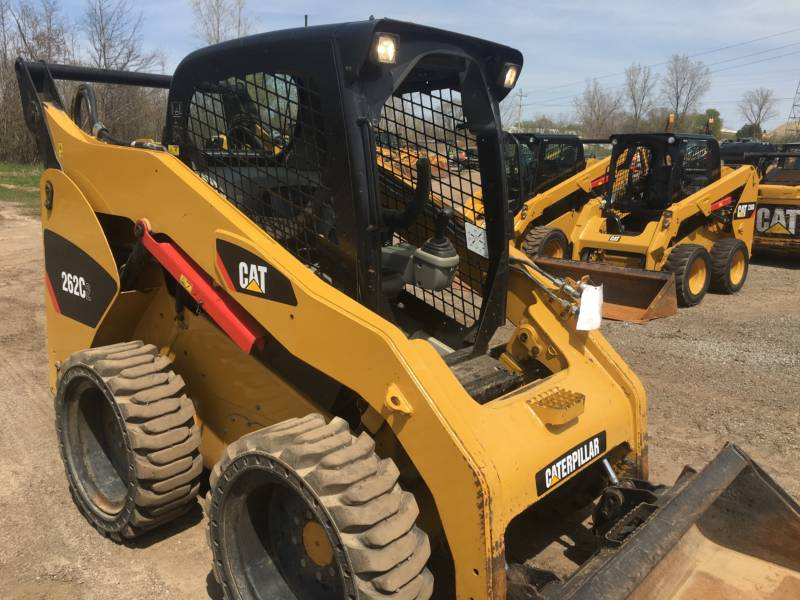 CATERPILLAR SKID STEER LOADERS 262C2 equipment  photo 8