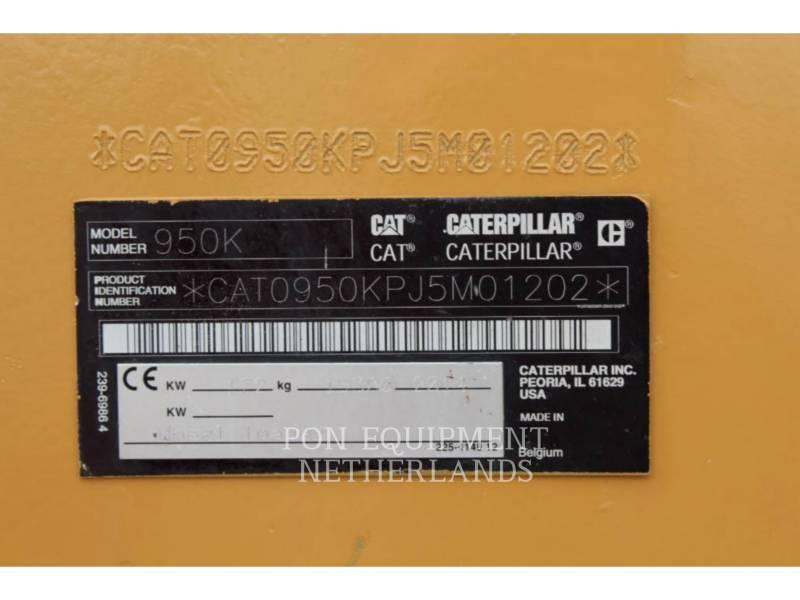 CATERPILLAR CHARGEURS SUR PNEUS/CHARGEURS INDUSTRIELS 950K equipment  photo 7