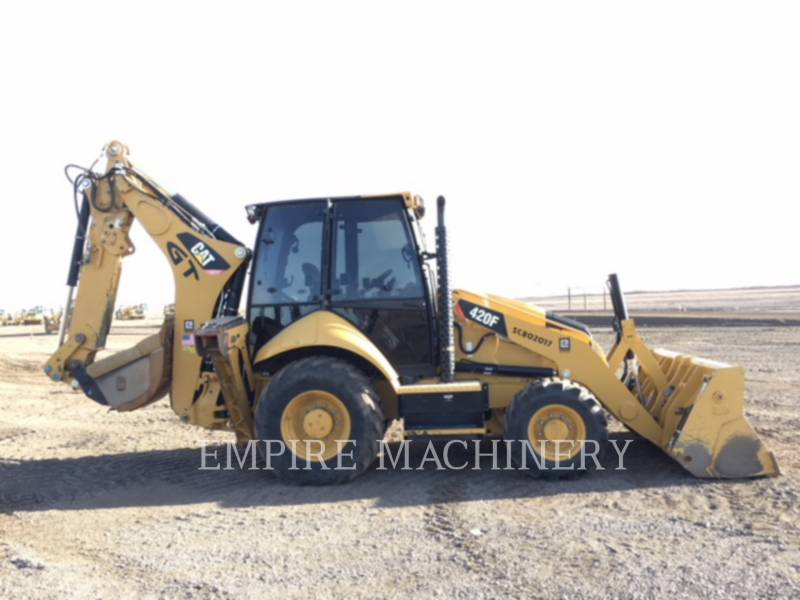 CATERPILLAR BAGGERLADER 420F equipment  photo 7