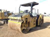 CATERPILLAR VIBRATORY DOUBLE DRUM ASPHALT CB66B equipment  photo 4