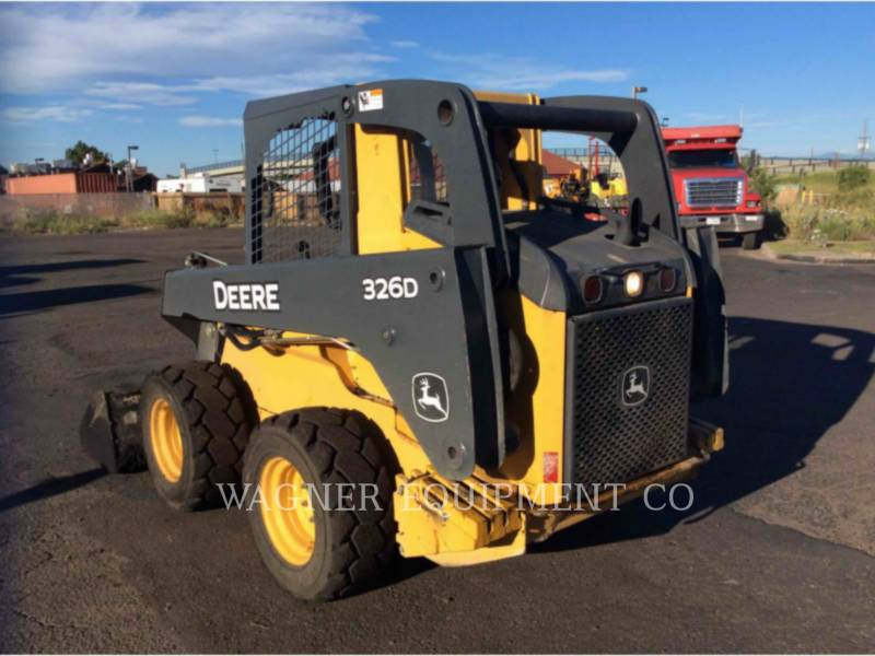 JOHN DEERE SKID STEER LOADERS 326D equipment  photo 2