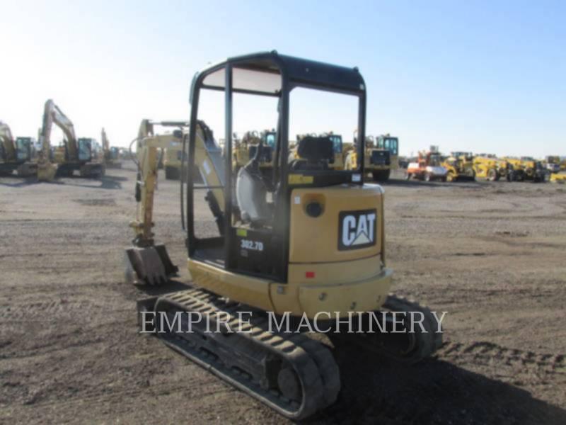 CATERPILLAR TRACK EXCAVATORS 302.7DCR equipment  photo 5