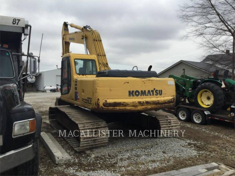 KOMATSU PELLES SUR CHAINES PC220LC equipment  photo 5