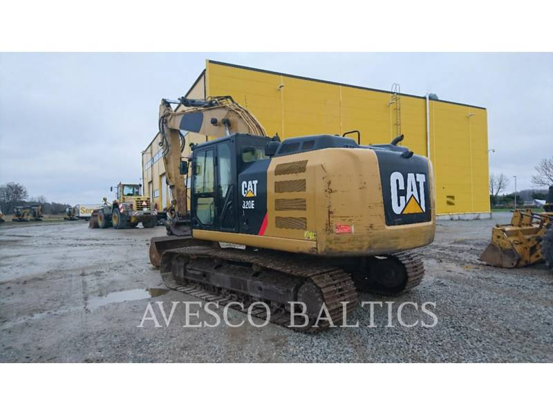 CATERPILLAR KETTEN-HYDRAULIKBAGGER 320EL equipment  photo 3