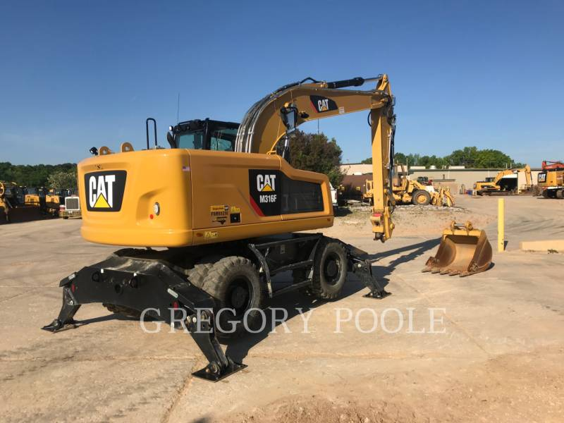 CATERPILLAR WHEEL EXCAVATORS M316F equipment  photo 2