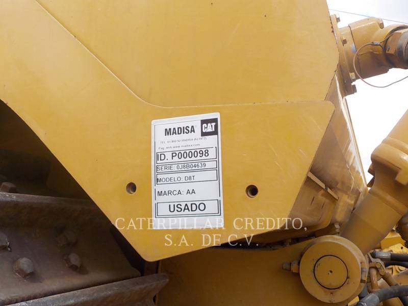 CATERPILLAR TRACTORES DE CADENAS D8T equipment  photo 24