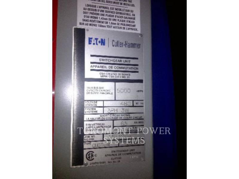CUTTLER HAMMER SYSTEMS COMPONENTS SWITCHGEAR 5000A equipment  photo 5