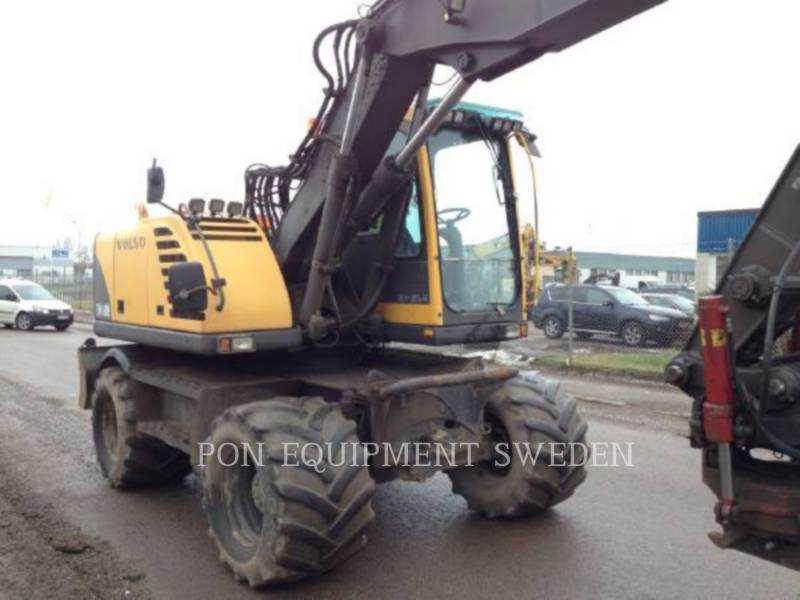 VOLVO CONSTRUCTION EQUIPMENT WHEEL EXCAVATORS EW160B equipment  photo 4