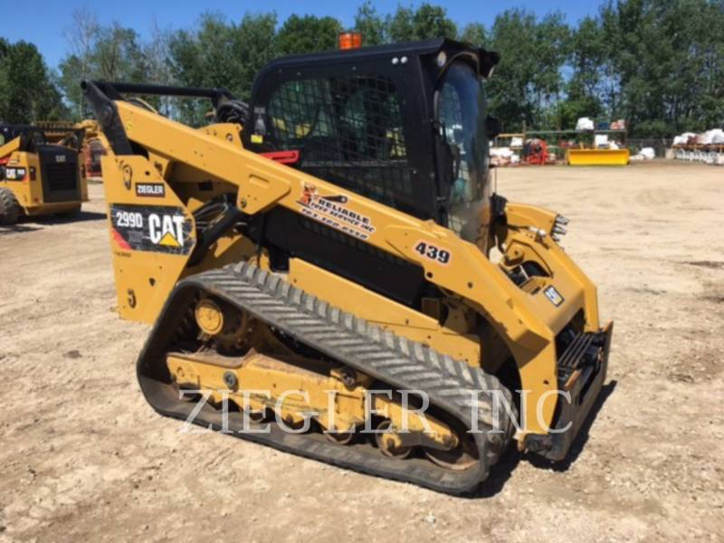 CATERPILLAR MULTI TERRAIN LOADERS 299DXHP equipment  photo 1