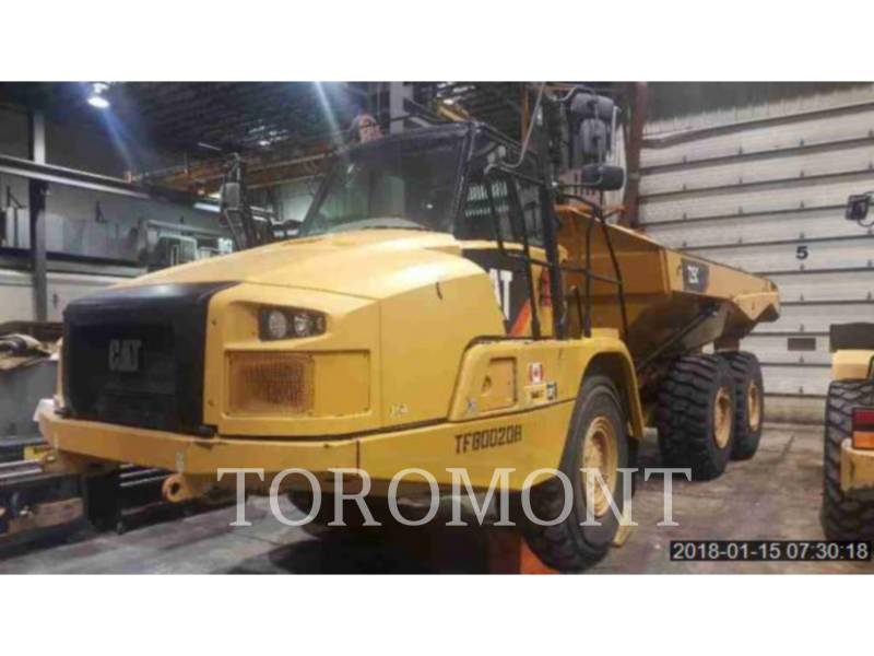 CATERPILLAR TOMBEREAUX DE CHANTIER 725C equipment  photo 1