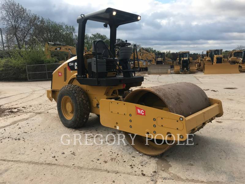 CATERPILLAR EINZELVIBRATIONSWALZE, GLATTBANDAGE CS-44 equipment  photo 6