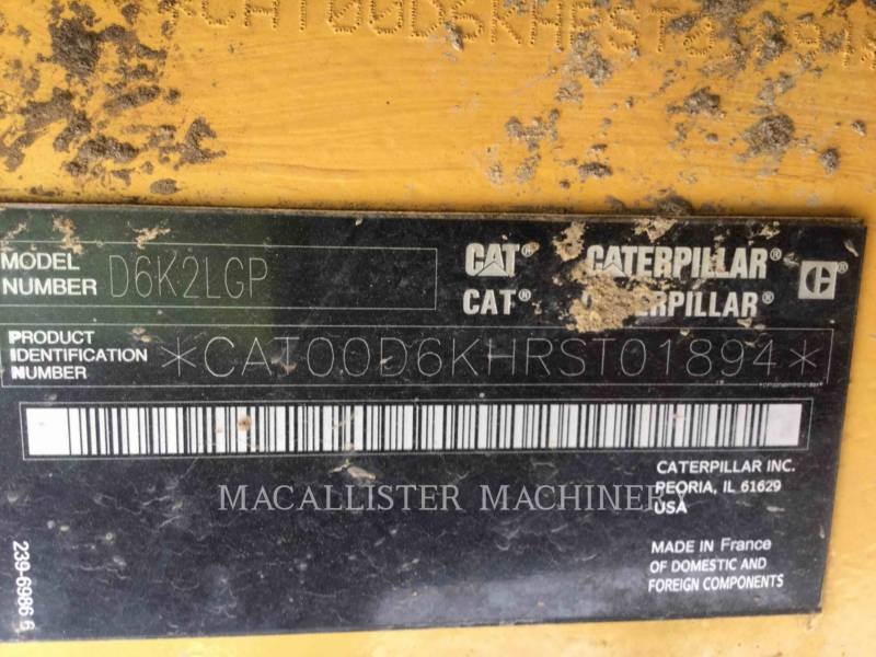 CATERPILLAR KETTENDOZER D6K2LGP equipment  photo 6