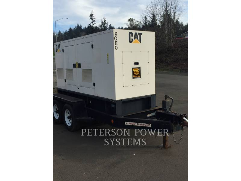 CATERPILLAR PORTABLE GENERATOR SETS XQ80 equipment  photo 1