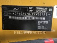 CATERPILLAR CARREGADEIRAS TODO TERRENO 257D equipment  photo 16