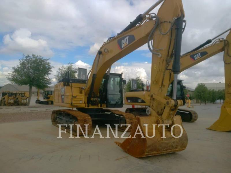 CATERPILLAR TRACK EXCAVATORS 330FLN equipment  photo 1