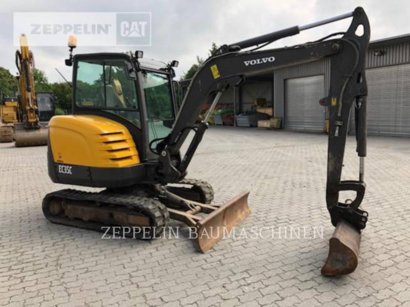 VOLVO CONSTRUCTION EQUIPMENT KETTEN-HYDRAULIKBAGGER EC35C equipment  photo 4
