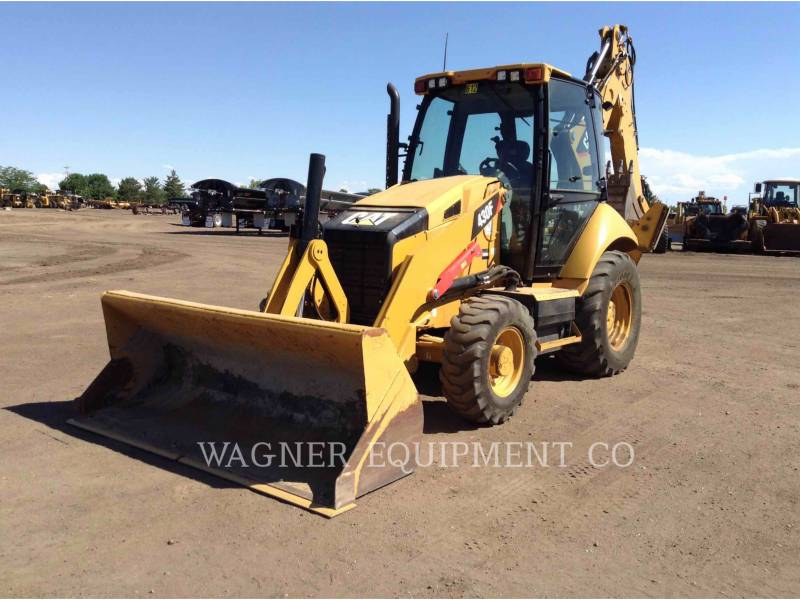 CATERPILLAR BACKHOE LOADERS 430F 4WDE equipment  photo 1
