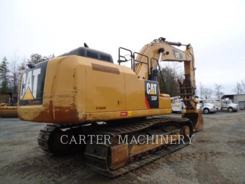 CATERPILLAR WHEEL LOADERS/INTEGRATED TOOLCARRIERS 336F 10 equipment  photo 4