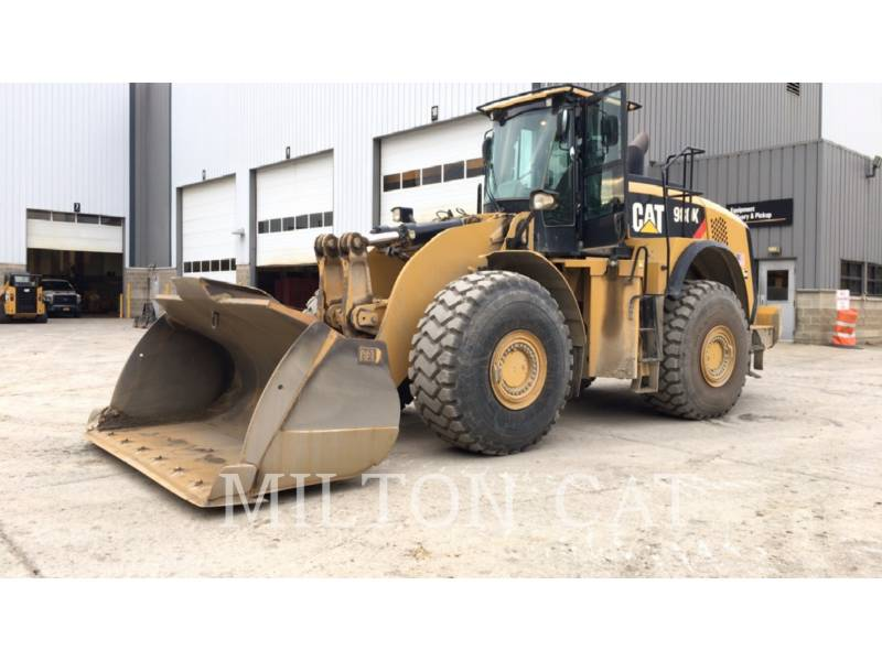 CATERPILLAR WHEEL LOADERS/INTEGRATED TOOLCARRIERS 980K equipment  photo 1