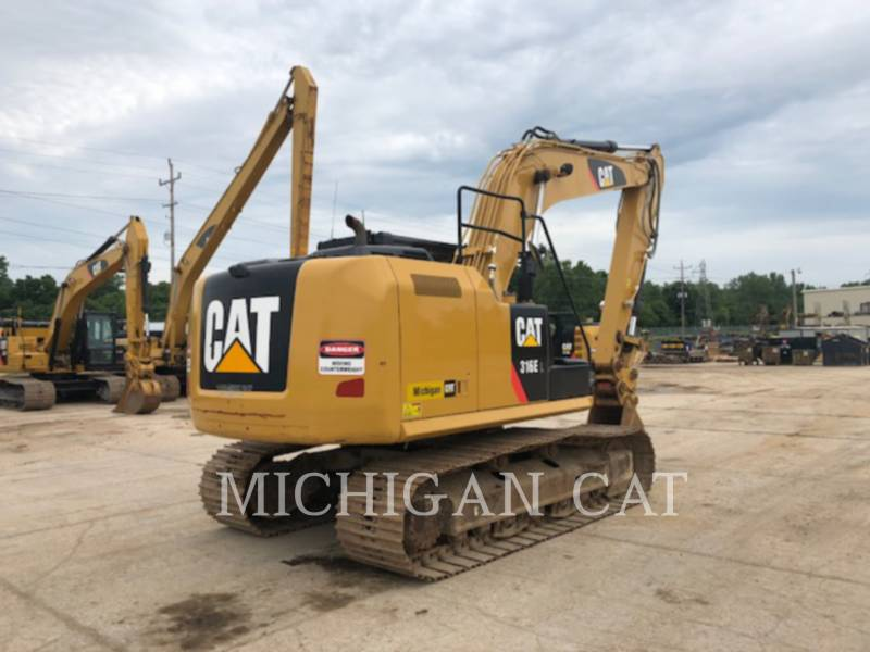 CATERPILLAR EXCAVADORAS DE CADENAS 316EL PQ28 equipment  photo 4