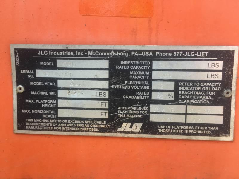 JLG INDUSTRIES, INC. LEVANTAMIENTO - PLUMA 600S equipment  photo 24