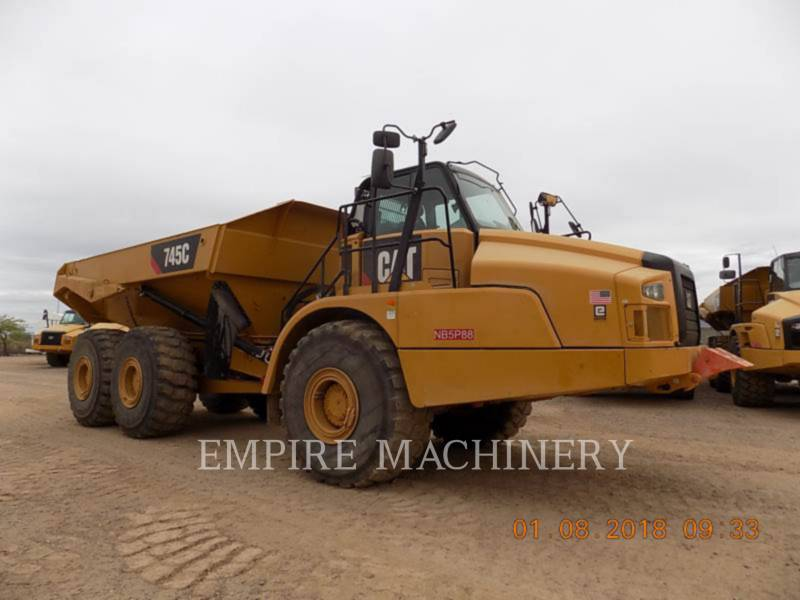 CATERPILLAR DUMPER ARTICOLATI 745C equipment  photo 1