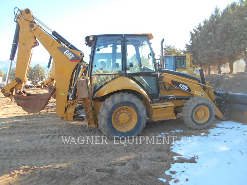 CATERPILLAR CHARGEUSES-PELLETEUSES 420E 4WD equipment  photo 3
