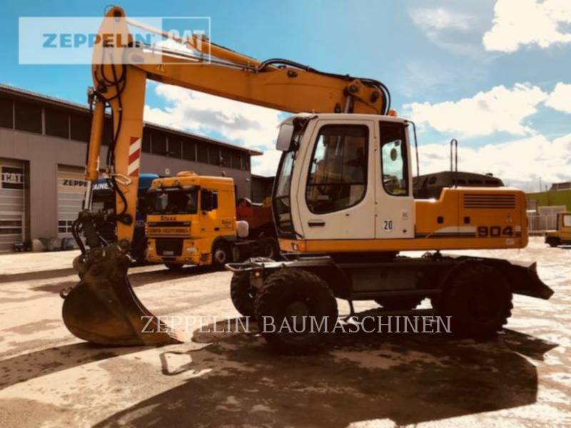 LIEBHERR KOPARKI KOŁOWE A904CLIT equipment  photo 1