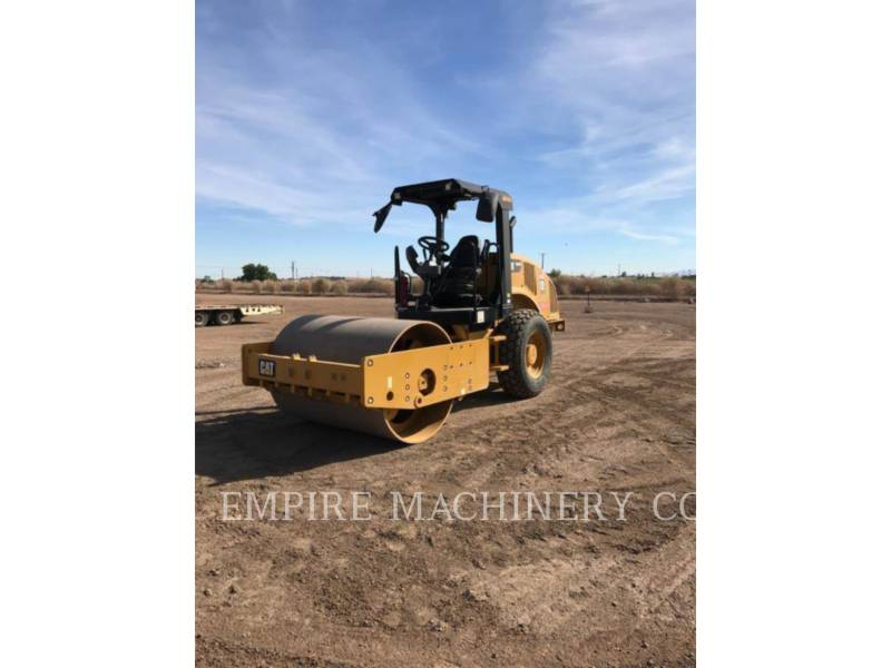 CATERPILLAR TRILLENDE ENKELE TROMMEL GLAD CS44B equipment  photo 4