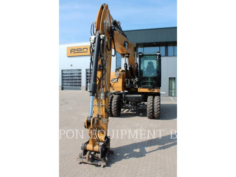 CATERPILLAR ESCAVADEIRAS DE RODAS M 314 F equipment  photo 16
