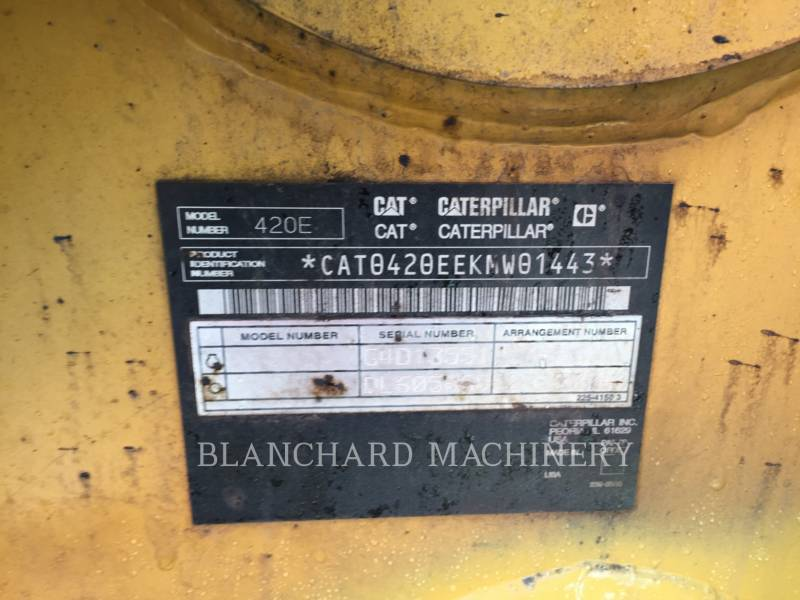 CATERPILLAR CHARGEUSES-PELLETEUSES 420 E IT equipment  photo 11