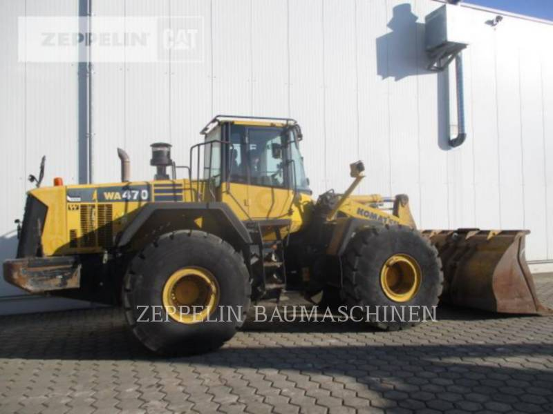 KOMATSU LTD. CARGADORES DE RUEDAS WA470-6 equipment  photo 7