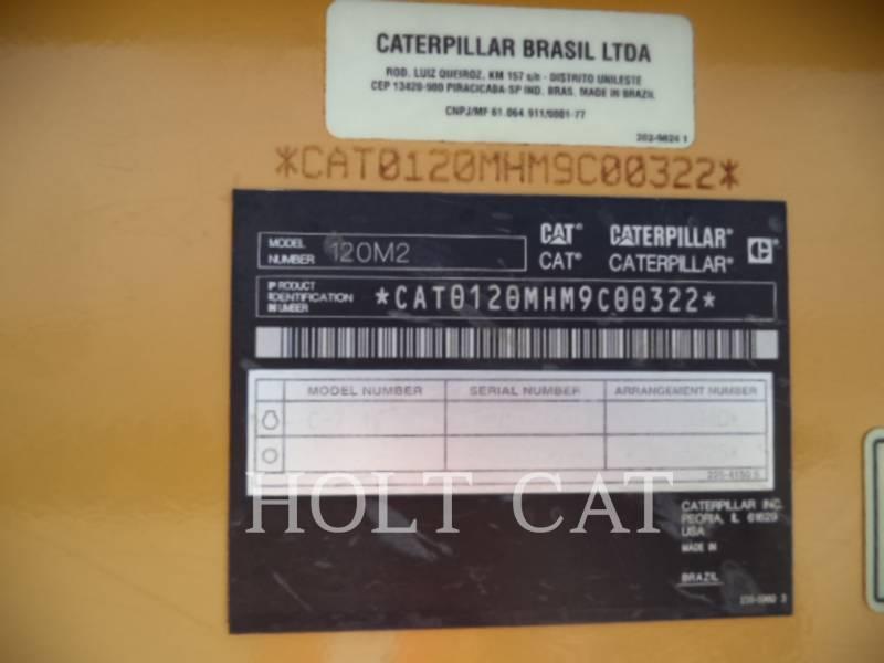 CATERPILLAR MOTONIVELADORAS 120M2 equipment  photo 6