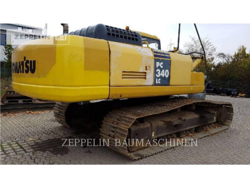 KOMATSU LTD. KETTEN-HYDRAULIKBAGGER PC340NLC equipment  photo 3