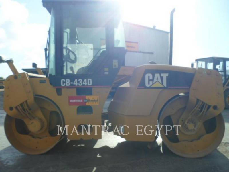 CATERPILLAR TANDEMOWY WALEC WIBRACYJNY DO ASFALTU (STAL-STAL) CB-434D equipment  photo 6