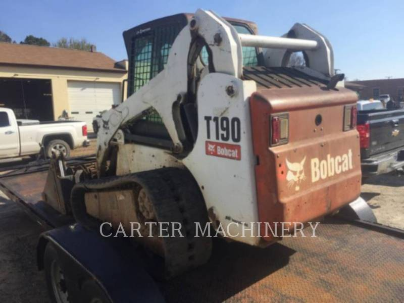 BOBCAT SKID STEER LOADERS BOB T190 equipment  photo 4