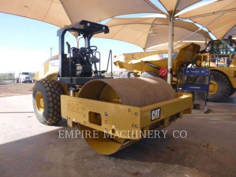 CATERPILLAR VIBRATORY SINGLE DRUM PAD CS54B equipment  photo 1