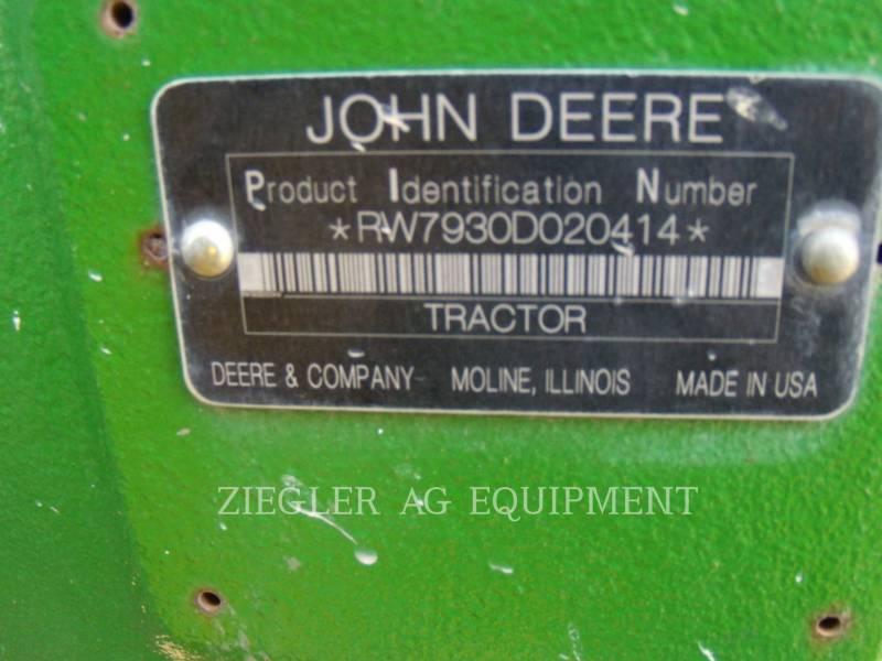 DEERE & CO. AG TRACTORS 7930 equipment  photo 2