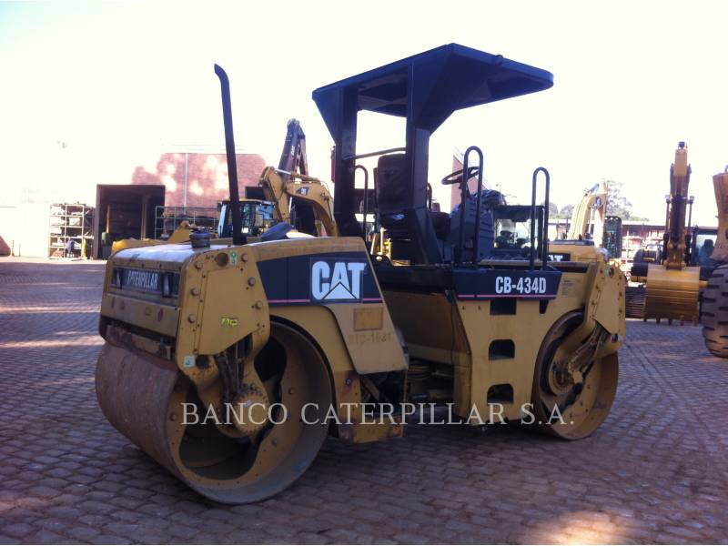 CATERPILLAR TAMBOR DOBLE VIBRATORIO ASFALTO CB-434D equipment  photo 2