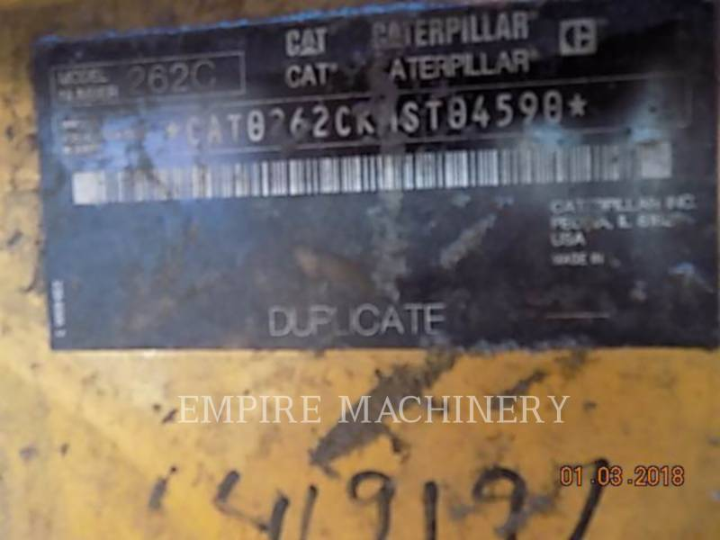 CATERPILLAR MINICARGADORAS 262C equipment  photo 12