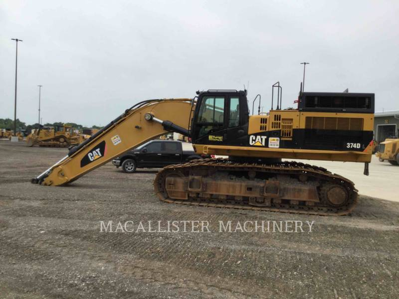 CATERPILLAR TRACK EXCAVATORS 374DL equipment  photo 4