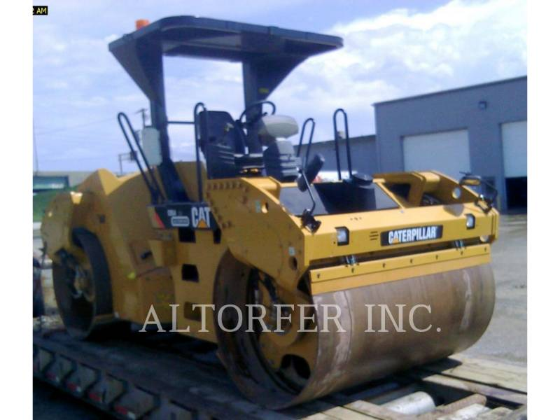 CATERPILLAR TANDEMOWY WALEC WIBRACYJNY DO ASFALTU (STAL-STAL) CB54XW equipment  photo 2