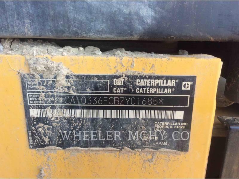 CATERPILLAR TRACK EXCAVATORS 336E L CFM equipment  photo 10