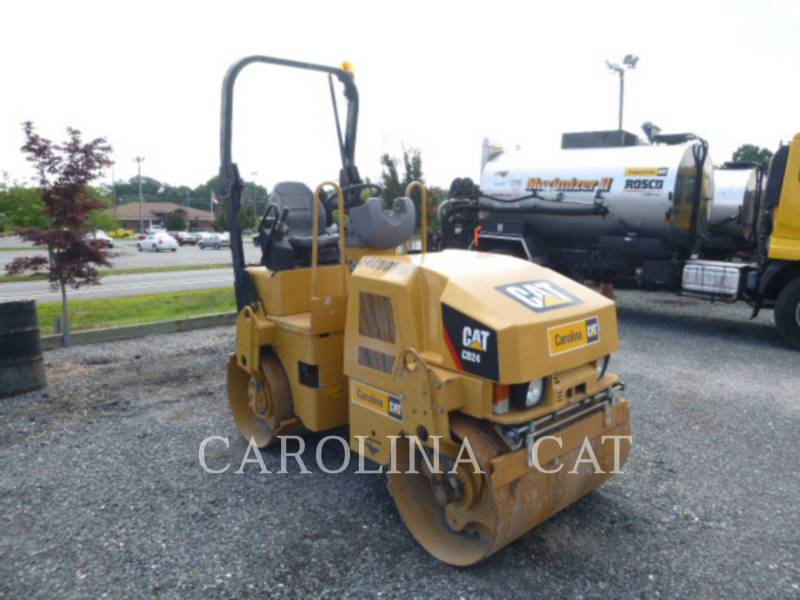 CATERPILLAR VIBRATORY DOUBLE DRUM ASPHALT CB24 equipment  photo 6