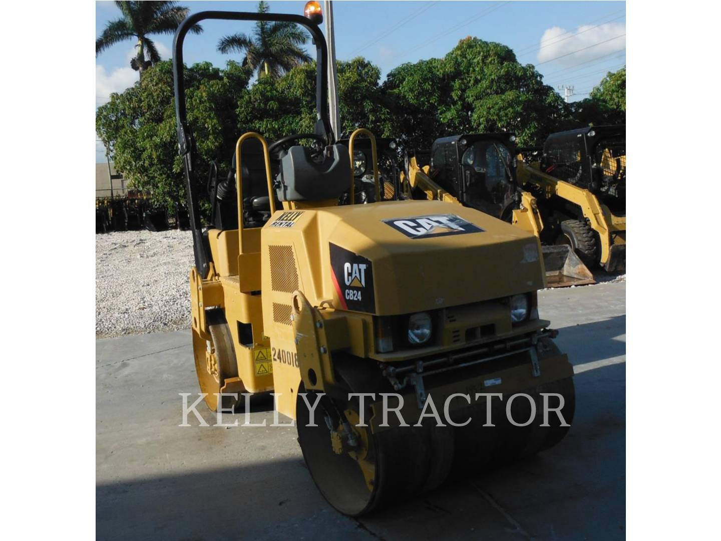 Detail photo of 2011 Caterpillar CB24 from Construction Equipment Guide